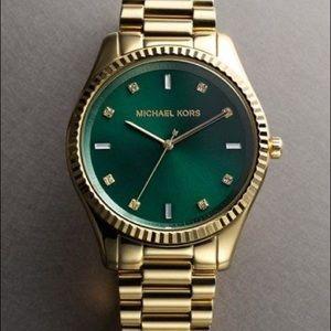 "NWOT Michael Kors ""Blake"" 42mm Gold Watch"